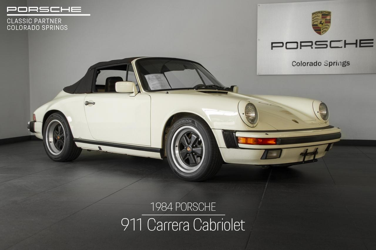 1984 Porsche 911 911 Carrera Cabriolet Colorado Springs CO