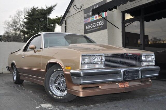 1985 Chevrolet El Camino SS/305 5.0 Liter/2 Owner/38k Original Miles/Original Build Sheet/Every Record from New Available/MUST SEE Nashville TN