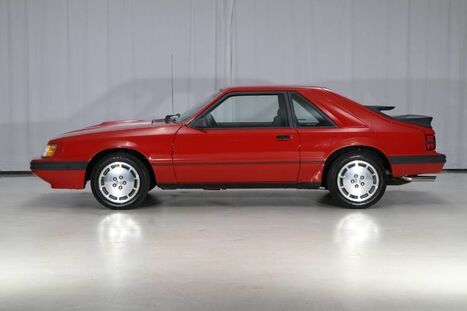 1985_Ford_Mustang_SVO TURBO 5MT_ West Chester PA