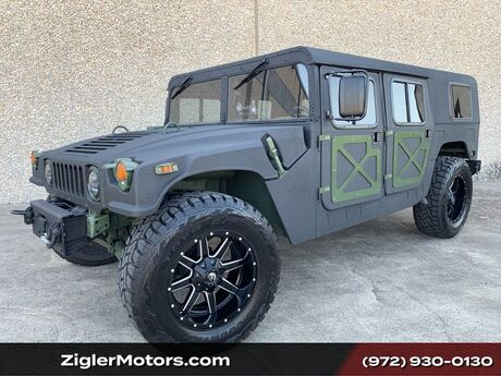 1985 HUMMER H1 AMGENERAL HUMVEE M998 Customized . H1 HUMMER Many Upgrades.A/C 20TOYO Tires RHINO LINER Finish leather seats Addison TX