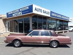 1985_Lincoln_Town Car_Sedan_ Spokane Valley WA