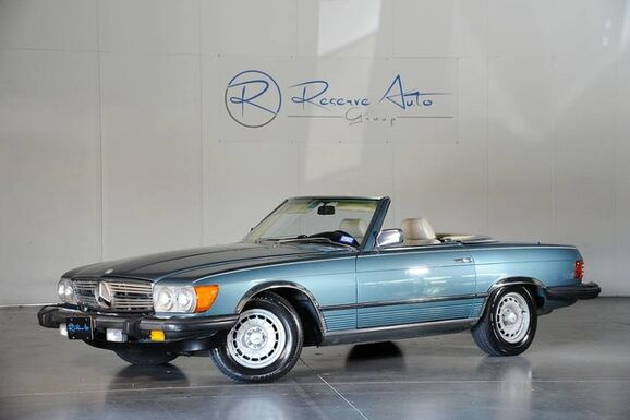1985_Mercedes-Benz_380 Series_380SL One Owner_ The Colony TX