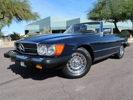 1985 Mercedes-Benz 380SL Convertible Scottsdale AZ