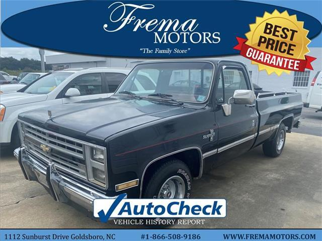 1986 Chevrolet C/K 10 Series C10 Goldsboro NC