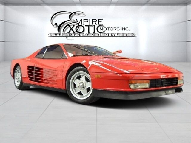 1986 Ferrari Testarossa Flying Mirror Addison TX