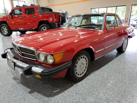1986_Mercedes-Benz_500-Class_560 SL_ Gainesville GA