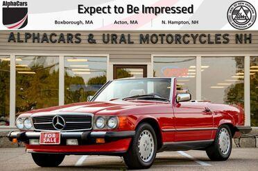 1986_Mercedes-Benz_560SL_Roadster_ Boxborough MA