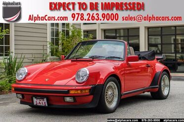 1986_Porsche_911_Carrera Cabriolet M491 Turbo Look_ Boxborough MA