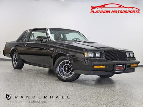 1987_Buick_Regal Grand National_1 Owner Hardtop 37K Miles Time Capsule Books Window Sticker_ Hickory Hills IL