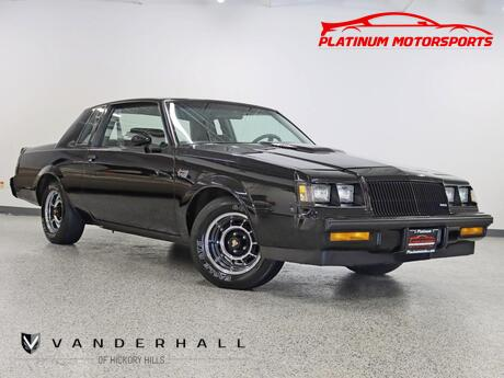 1987 Buick Regal Grand National 1 Owner Hardtop 37K Miles Time Capsule Books Window Sticker Hickory Hills IL