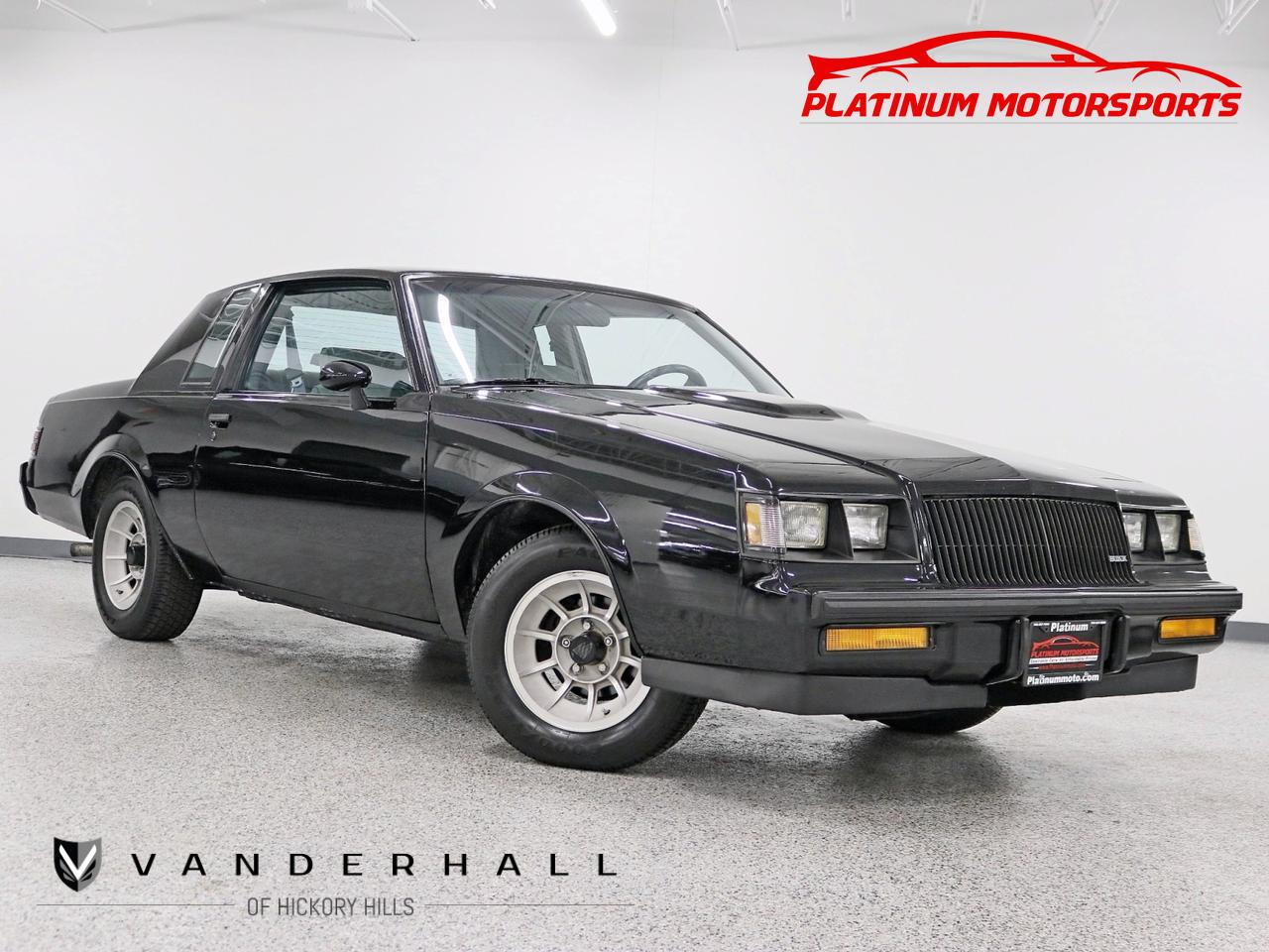 1987 Buick Regal Turbo T Rare Find 1 Of 1547 WE4 Hardtop Digital Dash Eagle GT II Tires Hickory Hills IL