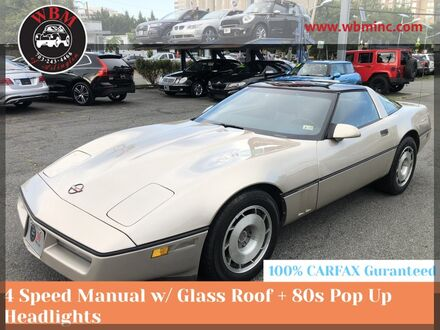 1987_Chevrolet_Corvette__ Arlington VA