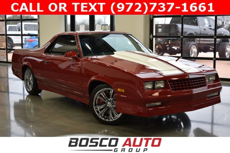 1987 Chevrolet EL Camino Custom Restomod Flower Mound TX