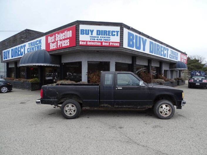 1987 Chevrolet S-10 Manual Transmission, Low KM's for Year, Good Condition Kelowna BC