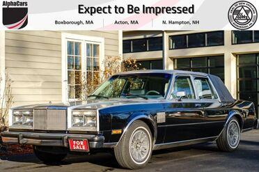 1987_Chrysler_Fifth Avenue_Two-Tone Sunroof Special_ Boxborough MA
