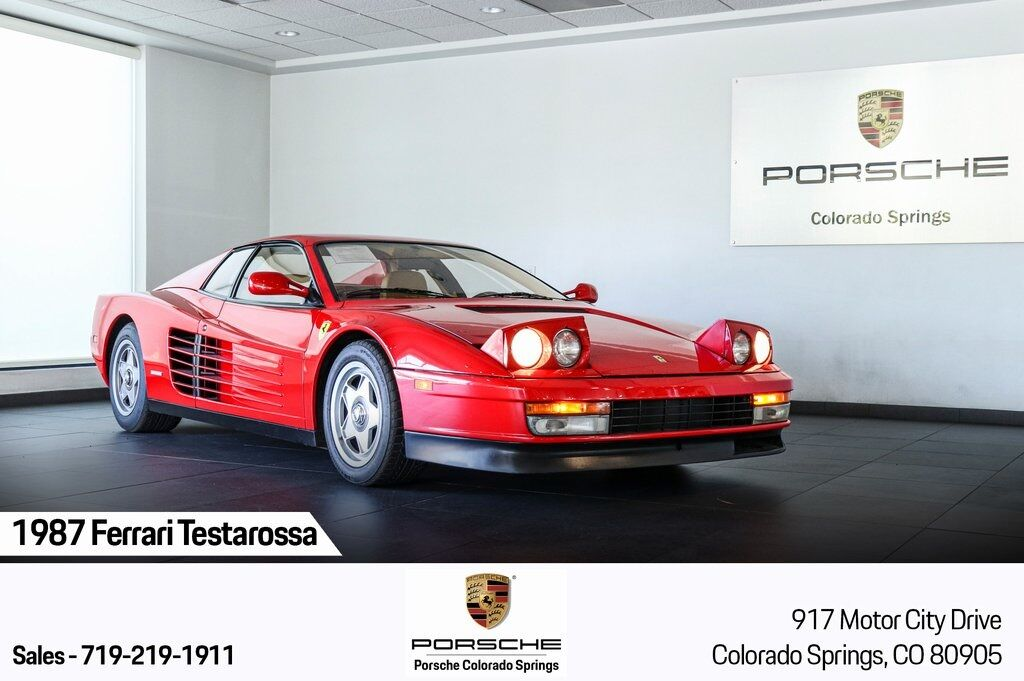 1987 Ferrari Testarossa  Colorado Springs CO