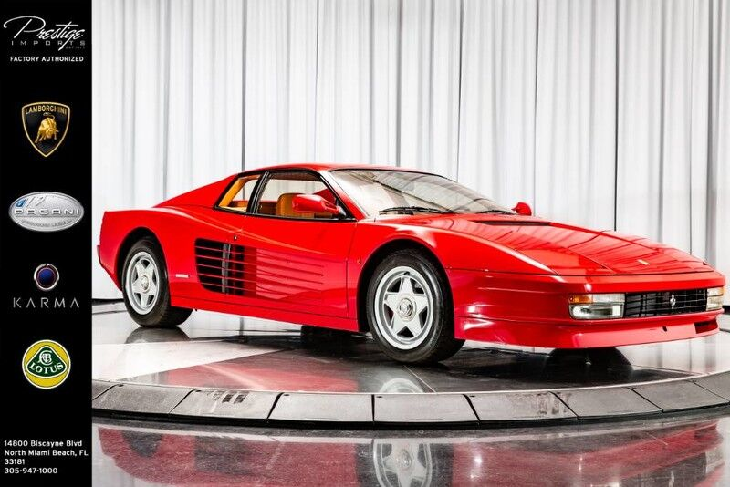 1987_Ferrari_Testarossa__ North Miami Beach FL