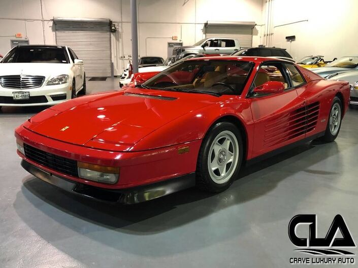 1987 Ferrari Testarossa  The Woodlands TX