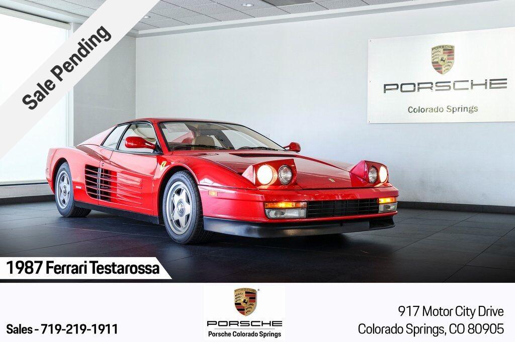 1987 Ferrari Testarossa 1 Colorado Springs CO