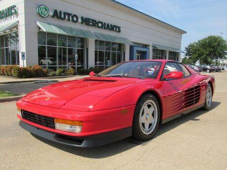 1987 Ferrari Testarossa Base Plano TX