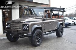Land Rover Defender 110 Convertible 1987