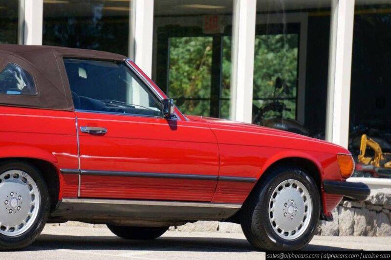 1987 Mercedes-Benz 560 Series 560SL Boxborough MA