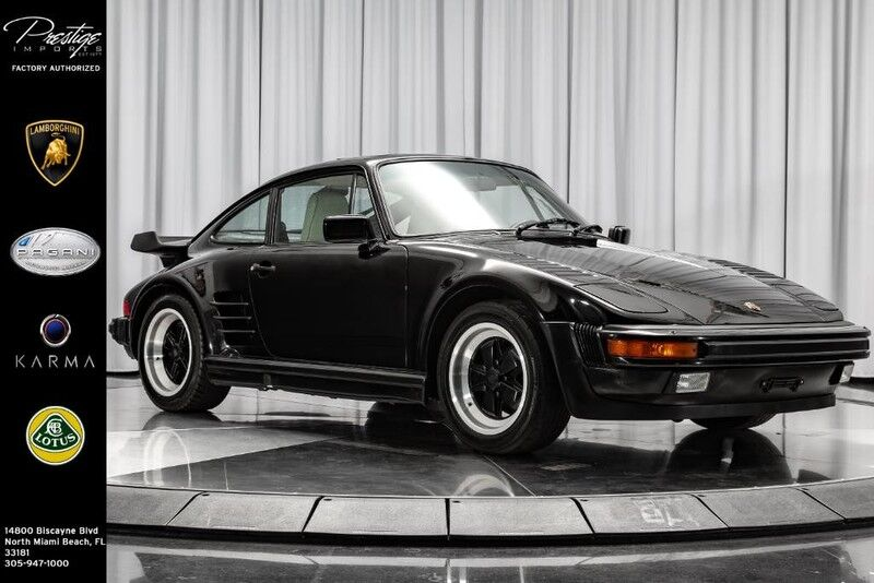 1987_Porsche_911 Carrera__ North Miami Beach FL