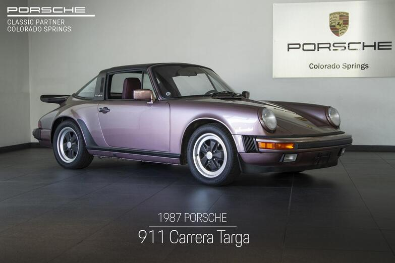 1987 Porsche 911 Carrera Targa Colorado Springs CO