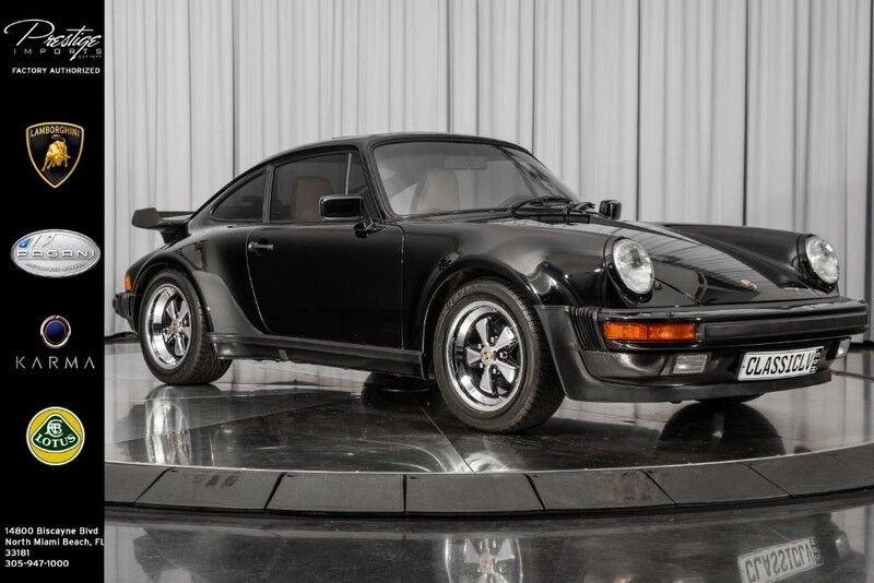 1987_Porsche_911 Turbo__ North Miami Beach FL