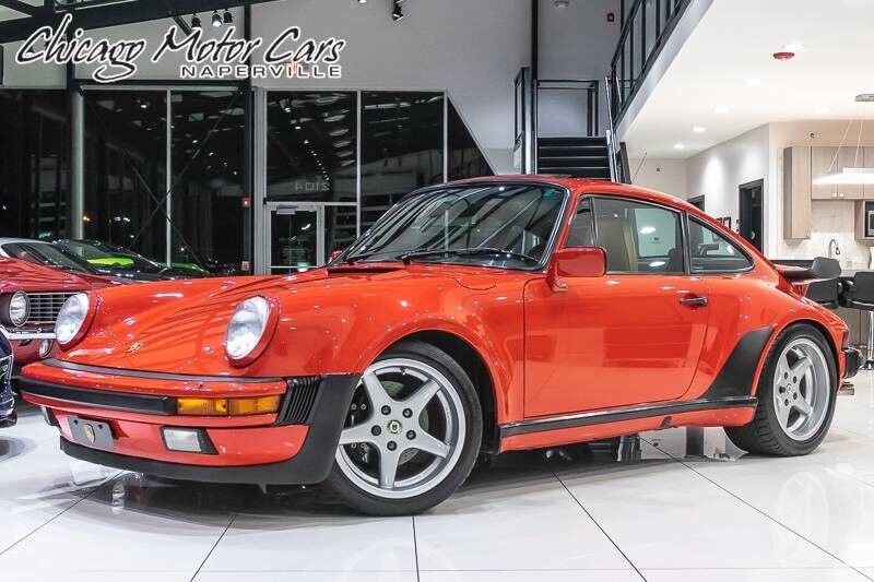1987_Porsche_930 Turbo_Coupe **SERVICE RECORDS**_ Chicago IL