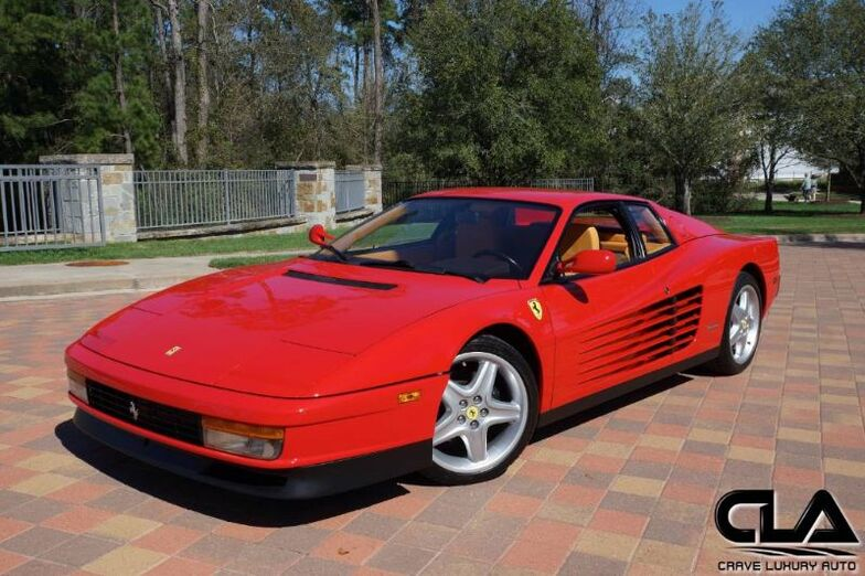 1988 Ferrari Testarossa  The Woodlands TX