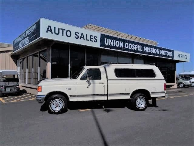1988 Ford F-150 Reg. Cab Long Bed 4WD Spokane Valley WA
