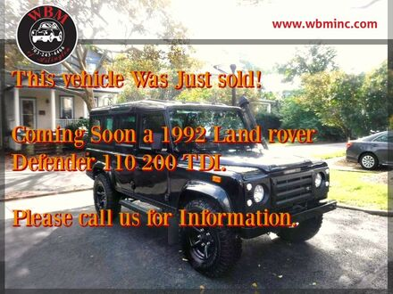 1988_Land Rover Defender_Defender 110_2.5 Turbo Diesel_ Arlington VA