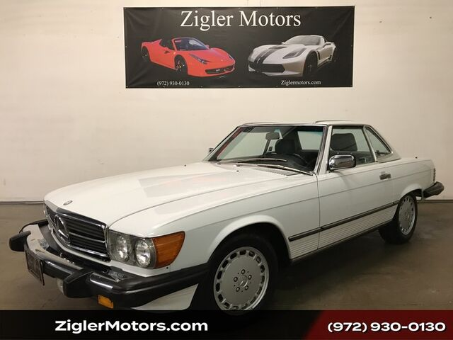 1988 Mercedes-Benz 560 SL One Owner Clean Carfax 48k Actual miles Recently serviced Addison TX