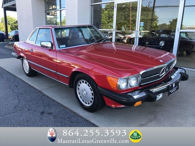 1988 Mercedes-Benz 560 Series 560SL Greenville SC