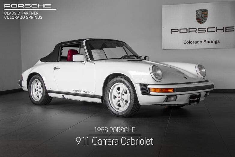 1988 Porsche 911 911 Carrera Cabriolet Colorado Springs CO