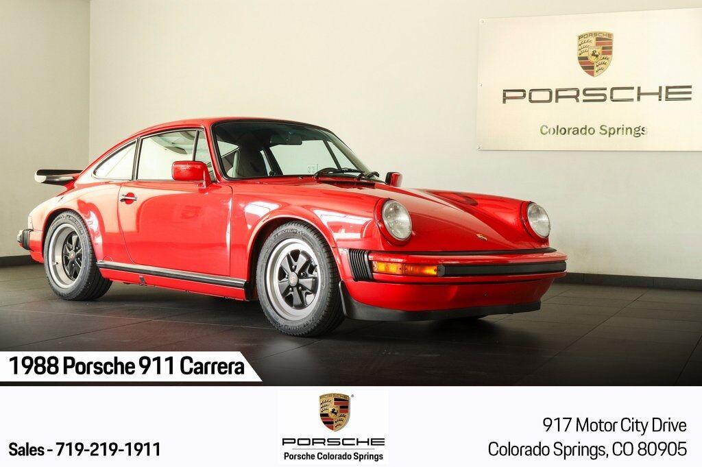 1988 Porsche 911 Carrera Club Sport Colorado Springs CO