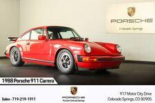 1988 Porsche 911 Carrera Club Sport