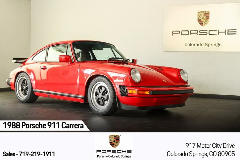 1988 Porsche 911 Carrera Colorado Springs CO