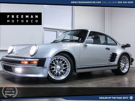 1988_Porsche_911 Turbo 930 Fiske Wheels 5-Speed__ Portland OR