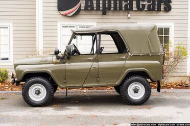 1988_UAZ_469_Military Light Utility_ Boxborough MA