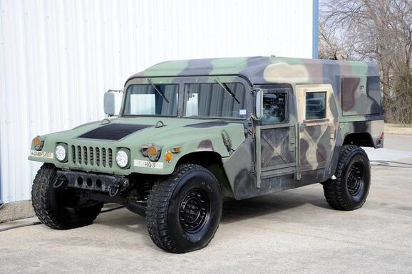 1989_AM General_Humvee_Wagon Hardtop Street Legal_ The Colony TX