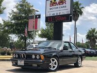 BMW 6 Series 635CSi 1989