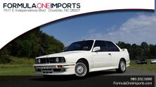 BMW M3 COUPE 2DR / 5-SPEED MAN / LOW MILES / SUPER CLEAN 1989