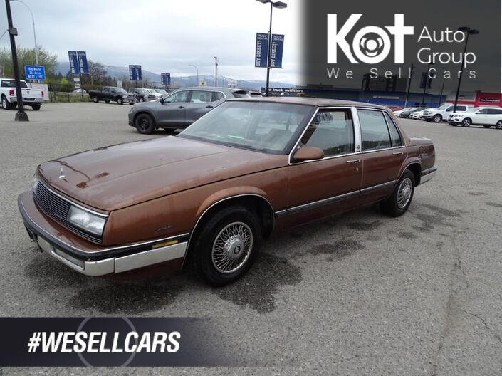 1989 Buick LeSabre Ltd, SWEET older vehicle, Runs Great! Even Better Price! Kelowna BC
