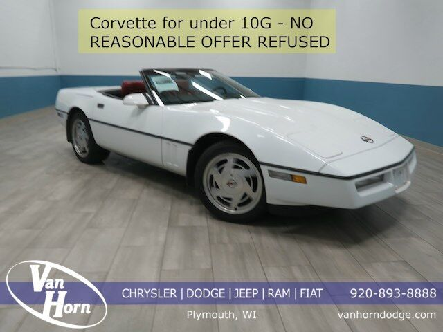 1989 Chevrolet Corvette Base Plymouth WI