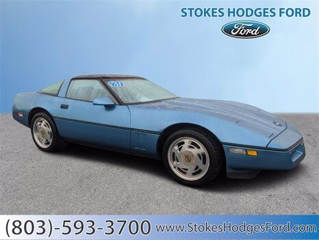 1989_Chevrolet_Corvette_Base_ Aiken SC