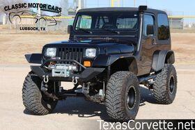 1989_Jeep_Wrangler_LS Swapped_ Lubbock TX