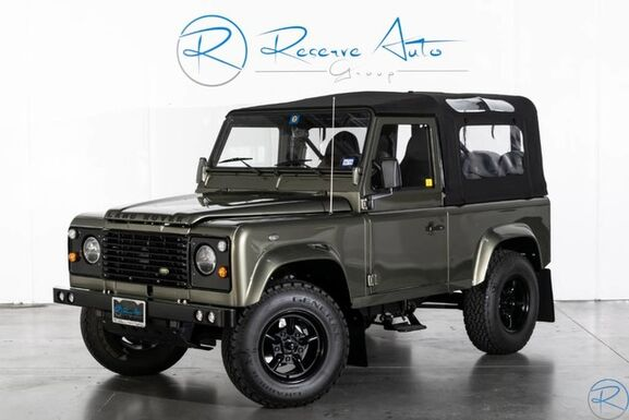 1989_Land Rover_Defender 90 2-Door Soft-Top A/C Heater__ The Colony TX