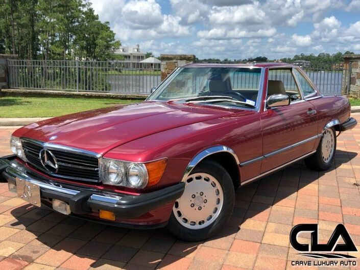 1989 Mercedes-Benz 560 Series 560SL The Woodlands TX